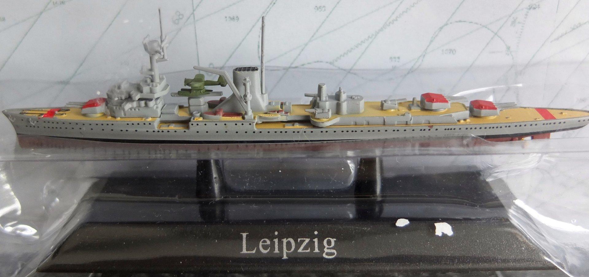 Leichter Kreuzer Leipzig - Modellautostudio Haan