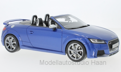 Audi TT RS Roadster, metallic-blau
