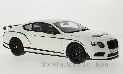 Bentley Continental GT 3-R, weiss/Dekor