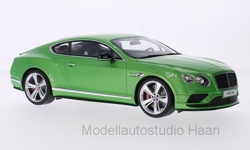 Bentley Continental GTV8S, metallic-grün