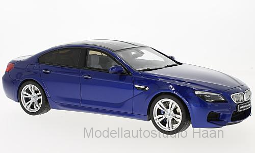 BMW M6 Gran Coupe, metallic-blau